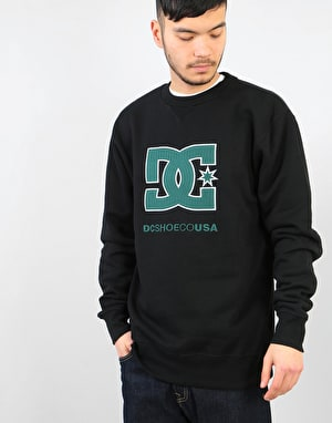 DC Glenridge Crew - Black