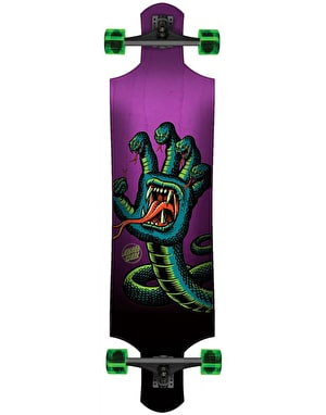 Santa Cruz Hissing Hand Drop Down Longboard - 40