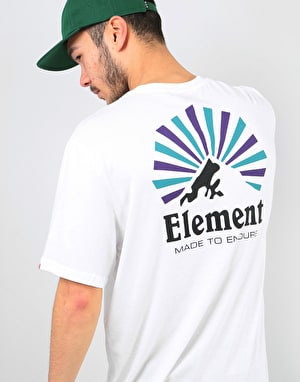 Element Rising T-Shirt - Optic White