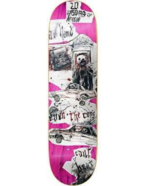Heroin Enemy 20 Years Skateboard Deck - 8.5