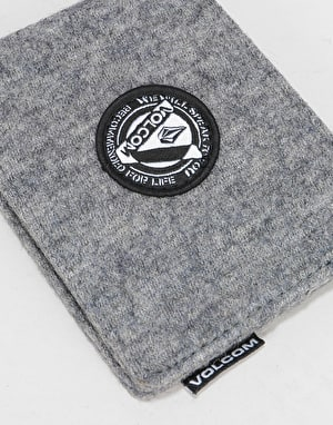 Volcom Woolstripe Wallet - Charcoal Heather