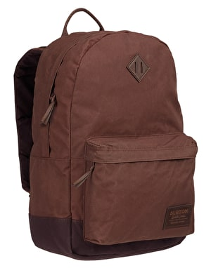 Burton Kettle Pack - Cocoa Brown Waxed Canvas