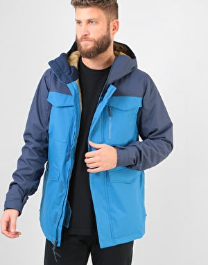 Burton Covert 2019 Snowboard Jacket - Vallarta Blue/Mood Indigo