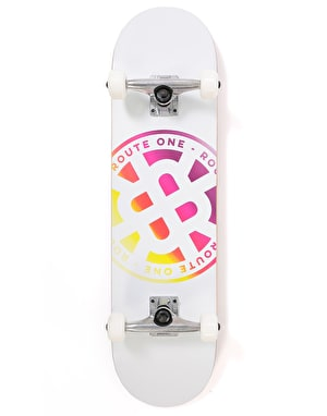 Route One Stamp Logo Complete Skateboard - 8