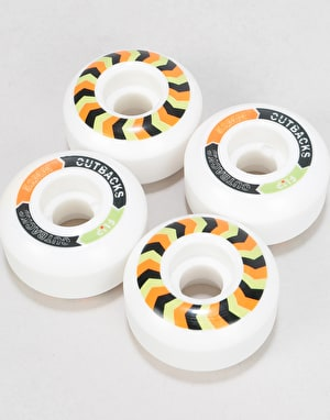 Flip Cutback 99a Skateboard Wheels - 52mm