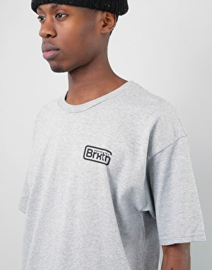 Brixton Springfield T-Shirt - Heather Grey
