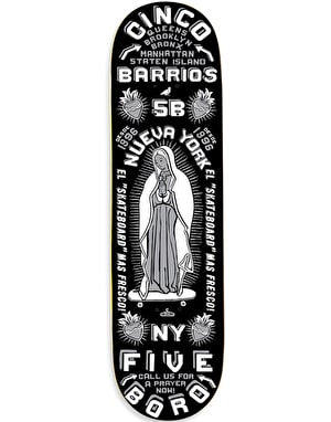 5Boro Cinco Barrios Skateboard Deck - 8.25