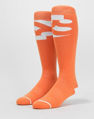 ThirtyTwo Cut Out Snowboard Socks - Orange