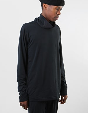 Burton Midweight Long Neck Thermal Top - True Black