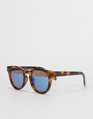 Vans Wellborn II Sunglasses - Cheetah Tortoise/Mirror