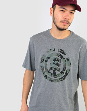 Element Bark Logo T-Shirt - Grey Heather