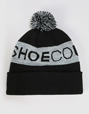 DC Chester Bobble Beanie - Black