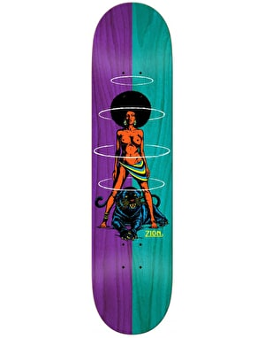 Real Zion Queen Split Skateboard Deck - 8.06
