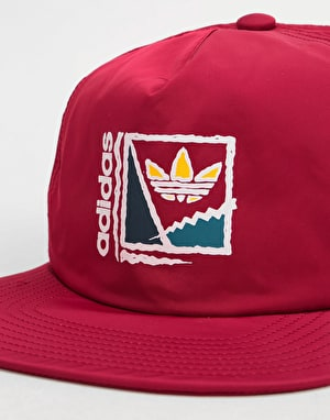 Adidas Court Crusher Cap - Burgundy