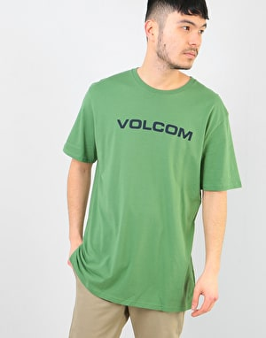 Volcom Crisp Euro T-Shirt - Dark Kelly