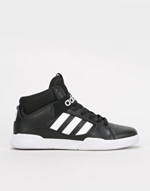 Adidas VRX Mid Skate Shoes - Core Black/White/White