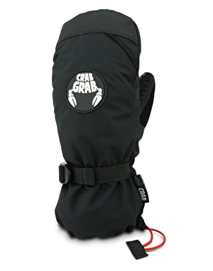 Crab Grab Cinch 2019 Snowboard Mitts - Black
