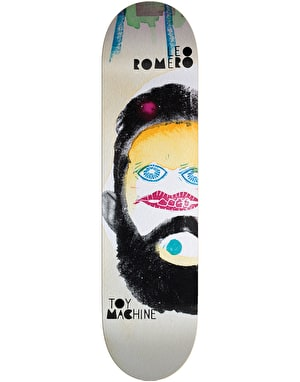 Toy Machine Romero Abstract Skateboard Deck - 8.25