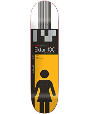 Girl x Kodak McCrank Skateboard Deck - 8.125
