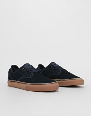 Emerica Wino G6 Skate Shoes - Navy/Gum