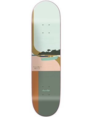 Chocolate Yonnie Hecox Tropical Studies Skateboard Deck - 8