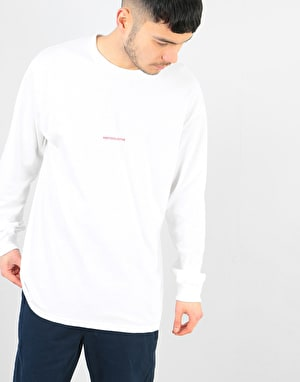 Poetic Collective Repetition L/S T-Shirt - White