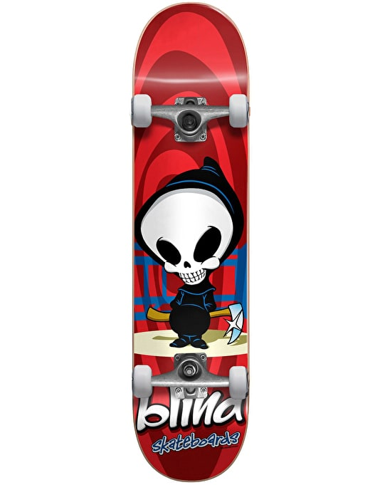 Blind Retro Reaper Soft Wheel Mini Complete Skateboard - 7.375""