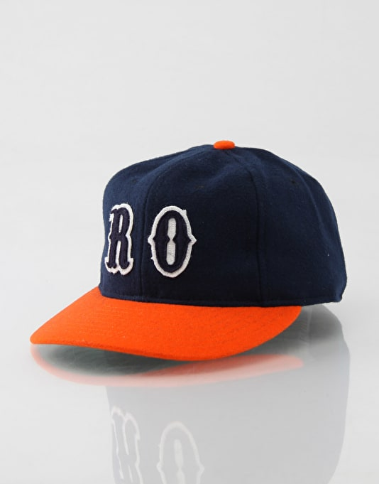 Ebbets x Route One Rebel Fitted Cap