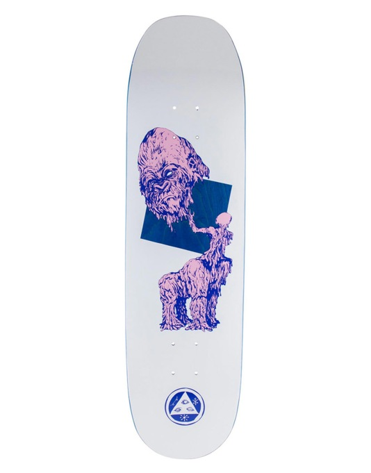 Welcome Wax Gorilla on Moontrimmer 2.0 Team Deck - 8.5""