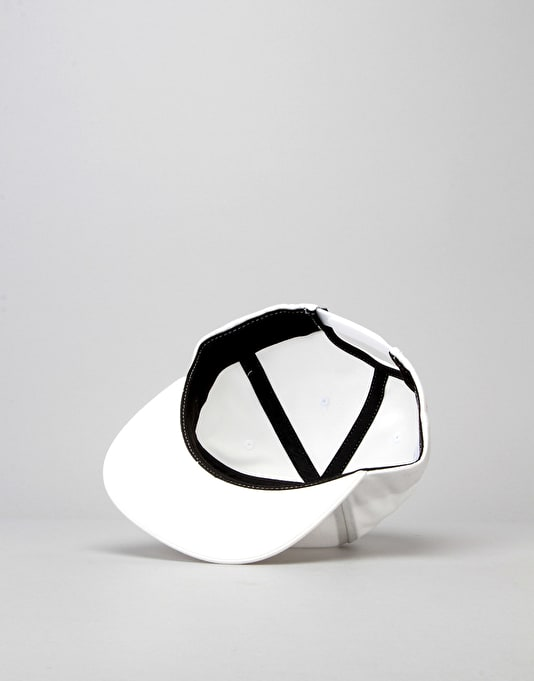 HUF x Chocolate Snapback Cap - White