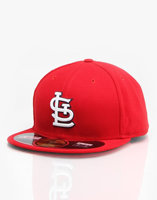 New Era St. Louis Cardinals Authentic Fitted Cap - Red