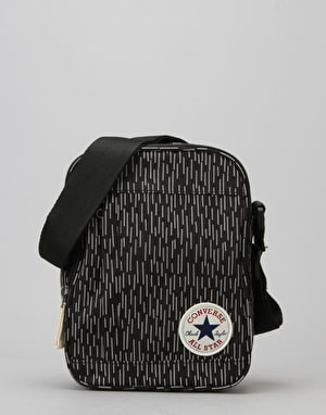 Converse Cross Body Bag - Black/Black Reflective