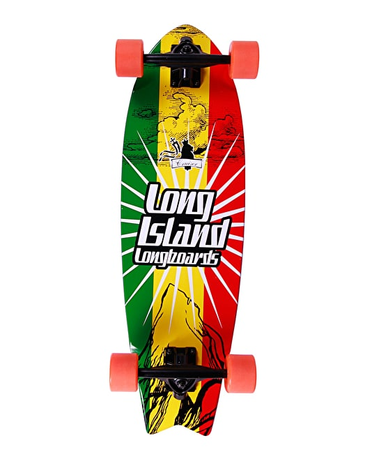 "Long Island Rasta Cruiser - 9"" x 29.72"""