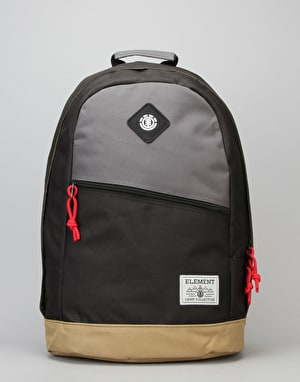 Element Camden Backpack - Stone Grey/Flint Black