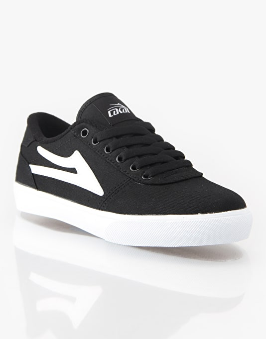 Lakai Manchester Boys Skate Shoes - Black