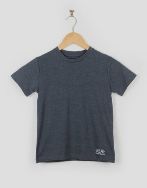 Route One Basic Boys T-Shirt - Navy Marl