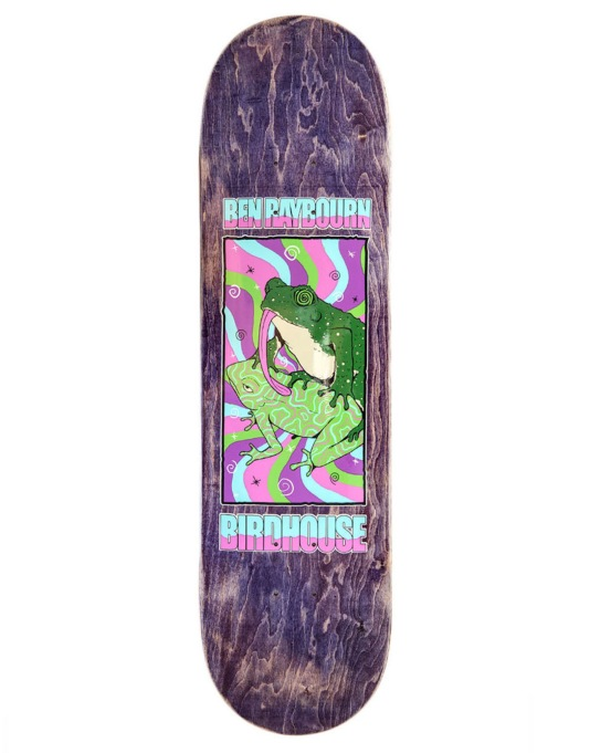 Birdhouse Raybourn Psych Frog Pro Deck - 8.5""