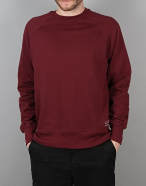 Route One Basic Sweatshirt - Burgundy