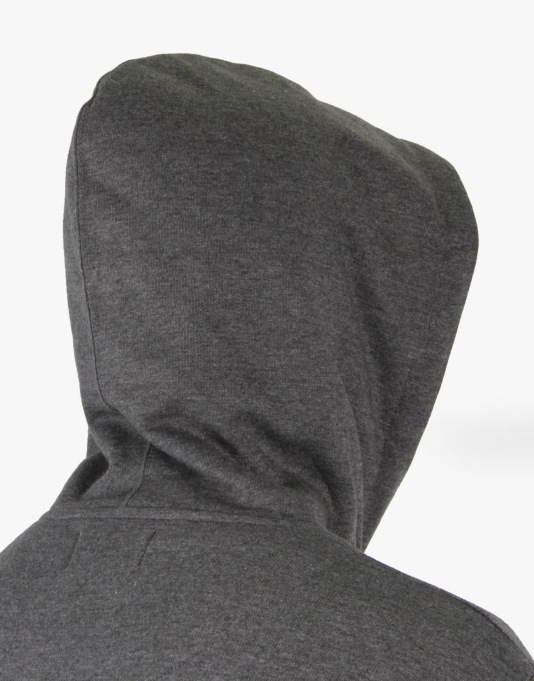 Route One Basic Pullover Hoodie - Charcoal