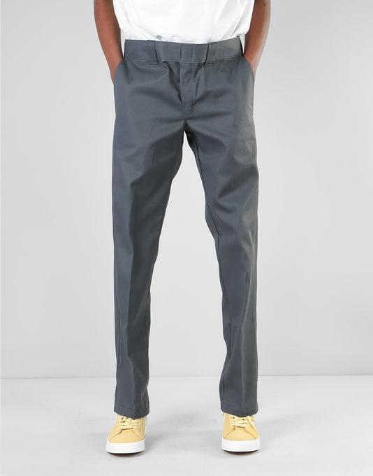 Dickies 873 Slim Work Pant - Charcoal