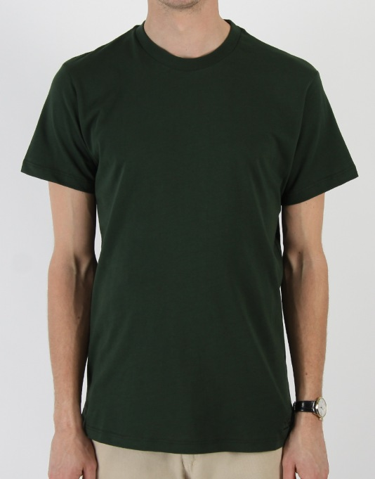Route One Basic T-Shirt- Dark Green