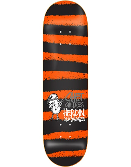 Heroin Childress Striped Icon Pro Deck - 8.5""