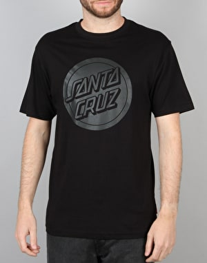 Santa Cruz Reverse Dot T-Shirt - Black