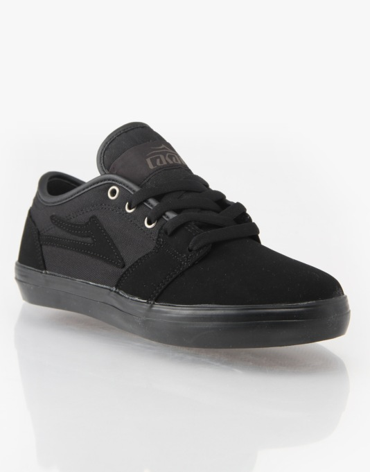 Lakai Judo Boys Skate Shoes - Black