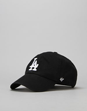 '47 Brand MLB Los Angeles Dodgers Clean Up Cap - Black