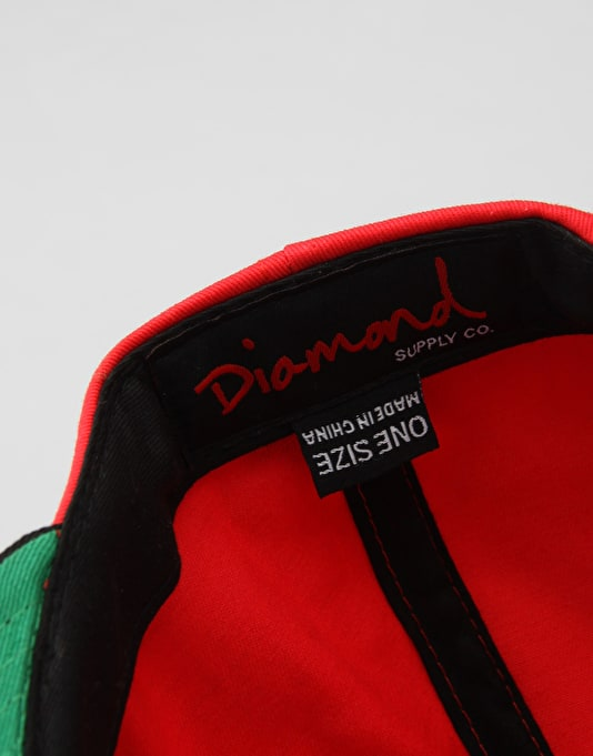 Diamond DMND Crown Snapback Cap