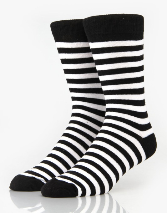 Route One Stripe Socks