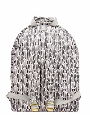 Mi-Pac Art Deco Backpack - Blush