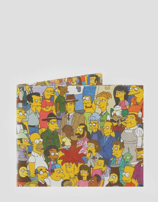 Mighty Wallets Simpsons Cast Wallet