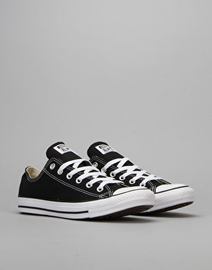 Converse All Star Lo Plimsolls - Black